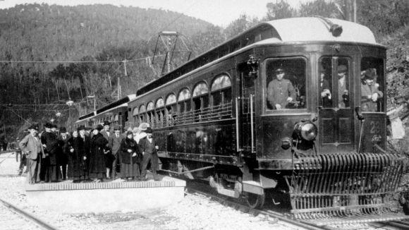 Sant Cugat es prepara per a la celebració del centenari de l'arribada del tren
