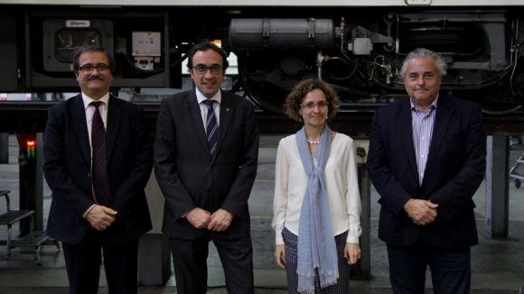 La formació professional dual uneix el Leonardo da Vinci i FGC
