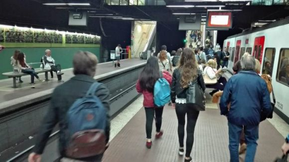 FGC farà obres al túnel de Vallvidrera de la línia dels Vallès el mes vinent sense interrompre el servei