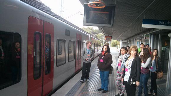 Ferrocarrils organitza dos nous simulacres d'evacuació a l'estació de Sant Cugat