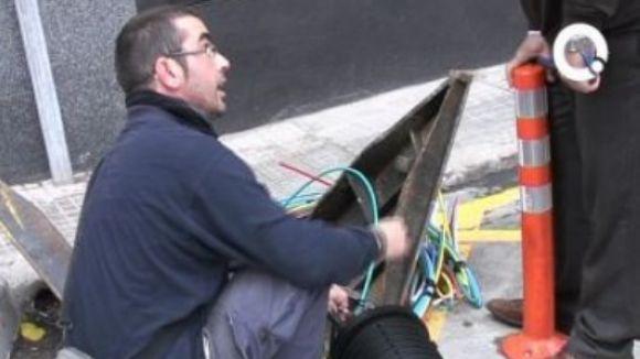 La fibra òptica arriba a un 90% de les llars de Sant Cugat