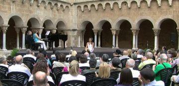 La soprano Eugenia Montenegro, guanyadora del Premi Camerata