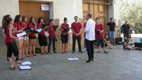Rua musical per tancar el curs de l'Escola de Música