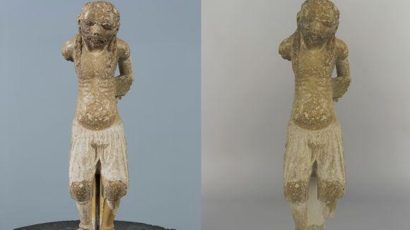 El CRBMC restaura quatre figures del Calvari del mestre Bartomeu