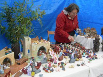 El Mercat d'Artesans oblida els articles típics de les dates nadalenques