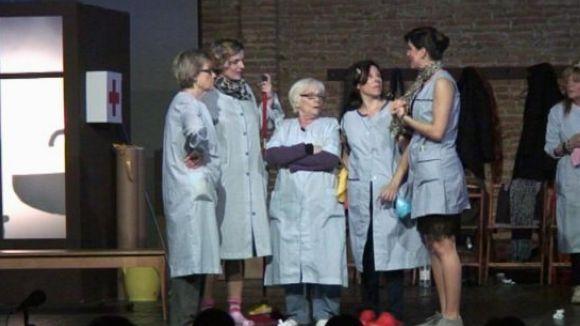 Fragment de l'obra 'Bruixes' que va interpretar la companyia de teatre Fila Zero