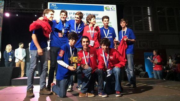 L'equip Ypsilon del Viaró guanya el premi a la innovació a la First Lego League