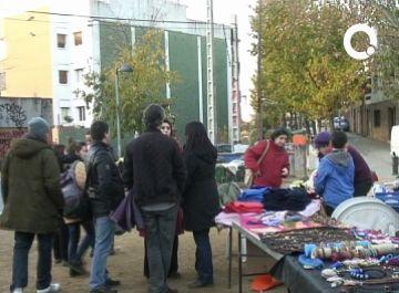 El pont i el mercat d'artesans de Valldoreix perjudiquen la fira de Santa Llúcia de la Floresta