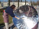 L'IES Arnau Cadell ha fet truites amb energia solar