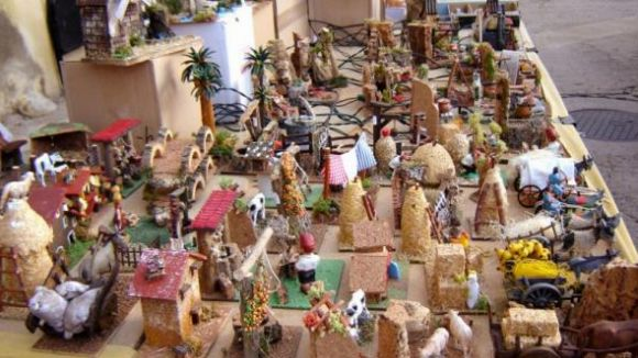 La Fira de Santa Llúcia s'ubica a la plaça dels Quatre Cantons / Font: EMD Vilamitjana