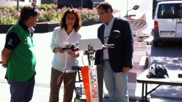 La 5a edició de la Fira de Vehicles Elèctrics porta a Sant Cugat nous mitjans de transport