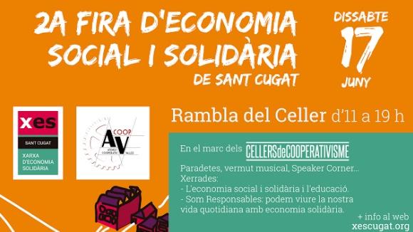 2a Fira d'Economia Social i Solidària de Sant Cugat