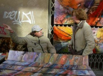 Firart reclama a l'Ajuntament millores en infraestructures per desenvolupar la seva mostra d'art al carrer