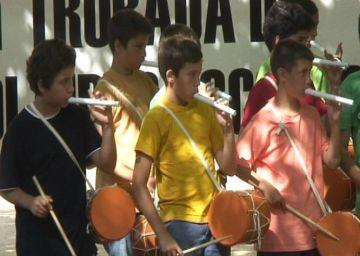 Els Jardins del Monestir acullen 200 joves flabiolaires de tot el Vallès Occidental
