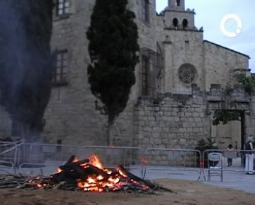 Ja es pot portar llenya a la Casa de Cultura per encendre la Flama del Canigó
