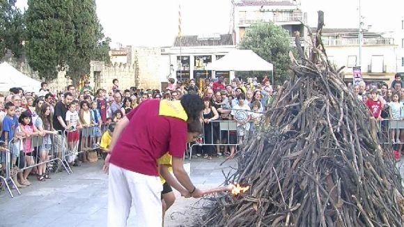 La flama del Canigó arribarà a Sant Cugat amb la veu de Mònica Terribas