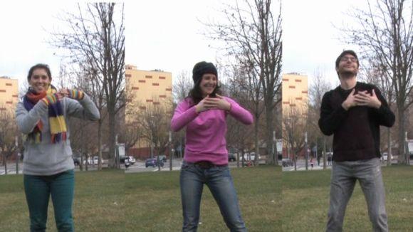 Assadega'm encomana alegria amb un 'flashmob' de la cançó 'Atrévete'