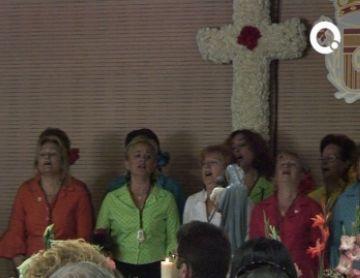 Els santcugatencs andalusos reviuen les seves arrels a la festa de la Cruz de Mayo