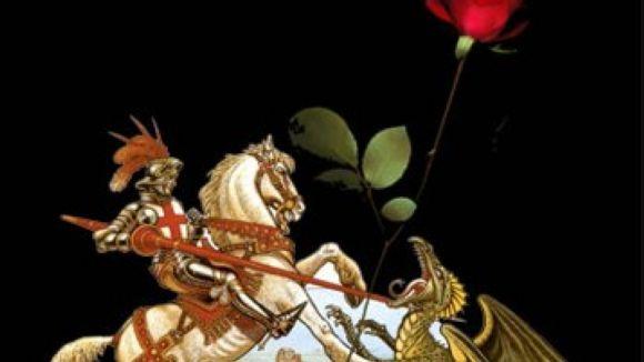 'La llegenda de Sant Jordi', avui en format de titelles a Can Ninot