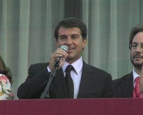 Laporta anima els santcugatencs a fer-se amb la Festa Major