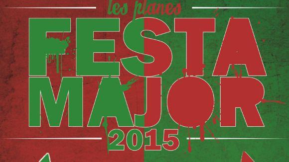 Detall del cartell de Festa Major