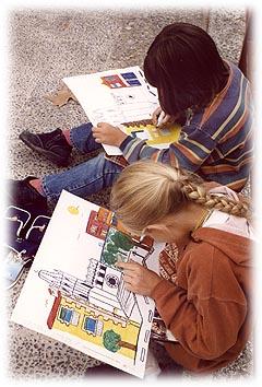 Els nens han presentat les seves creacions utilitzant tot tipus de tècniques