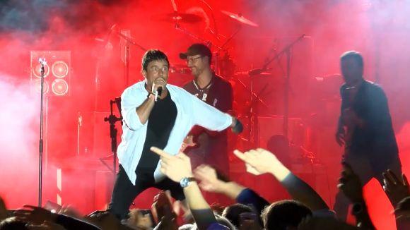 Imatge del concert de 'Els nois de la mare'