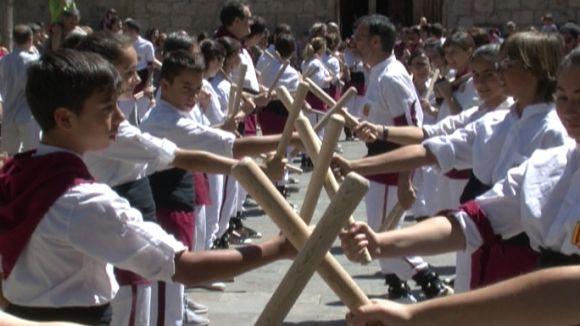 La Matinada Bastonera tanca el 25è aniversari dels Bastoners de Sant Cugat