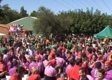 La trobada castellera ha concentrat el gruix del públic en l'últim dia de Festa Major