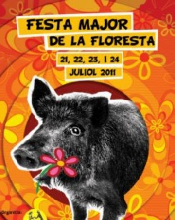 La Floresta comença avui quatre dies de Festa Major