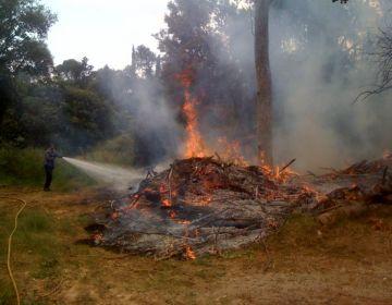 Els Agents Rurals incorporen el nou protocol comarcal per tramitar sol·licituds per fer foc