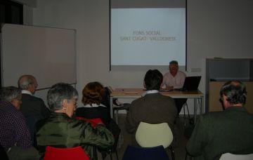 El Fons Social Sant Cugat-Valldoreix porta a debat la situació dels immigrants a Catalunya