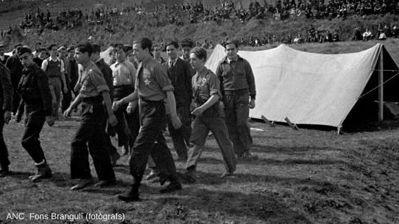 Passejar la història: 'Història de Pins del Vallès: Sant Cugat durant la Guerra Civil'