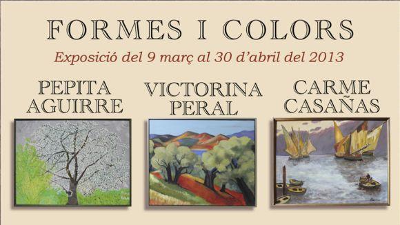 El Casal d'Avis de Valldoreix acull l'exposició 'Formes i Colors'