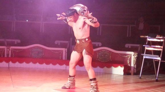 El Circ Raluy torna a Sant Cugat amb un espectacle d'homenatge la figura del forçut