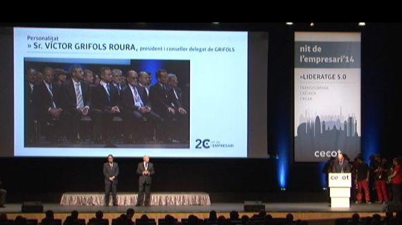 La Cecot reconeix la tasca de GFT IT Consulting i Víctor Grifols