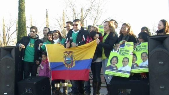 Els equatorians demanen més espais d'integració a Sant Cugat