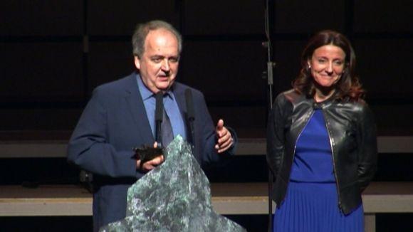 El director de l'OSSC, Josep Ferré, Premi Extraordinari Ciutat de Sant Cugat
