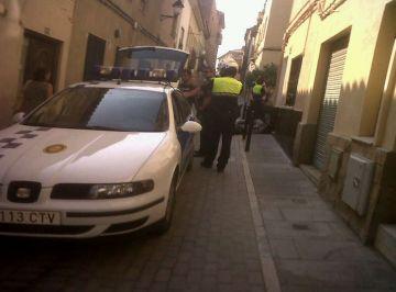Operació policial contra el 'top manta'