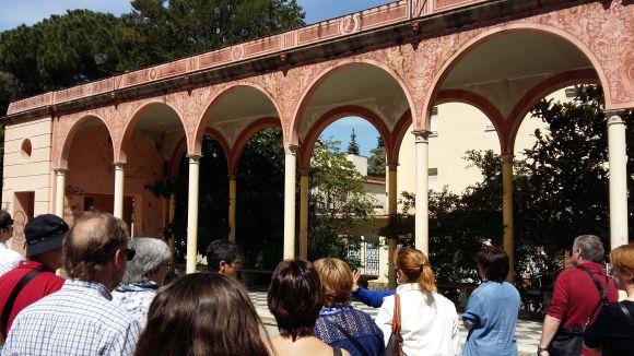 La petjada noucentista i modernista, reclam turístic de Sant Cugat