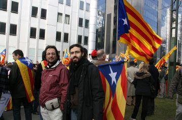 Raül Grangé (ERC): 'La marxa a Brusel·les ha estat tot un èxit'