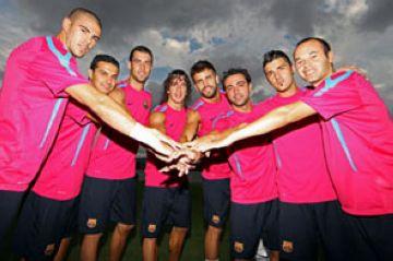El Barça ha celebrat una calçotada a Sant Cugat