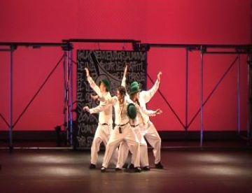 El hip hop de la companyia Brodas omple de ritme el Teatre-Auditori