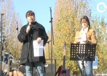 Mariona Martínez presenta la campanya de Nadal