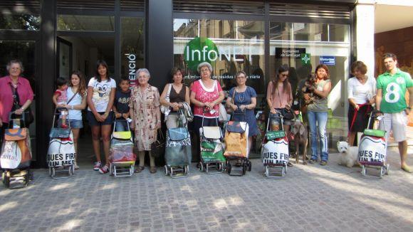 Menys bosses de plàstic als comerços gràcies a una campanya de sensibilització