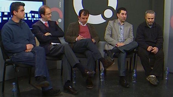 La tertúlia analitza la situació de Sant Cugat amb els partits polítics