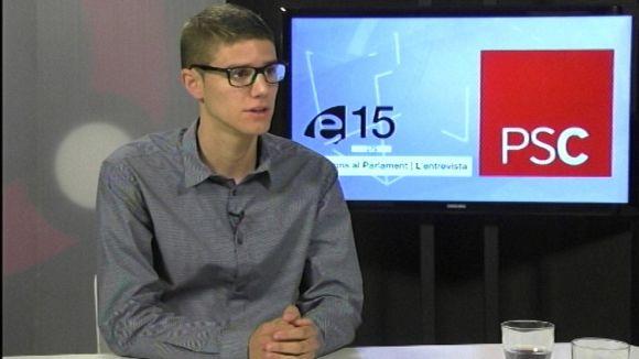 Francesc Aguilà (PSC): 'No tot se soluciona amb la independència'