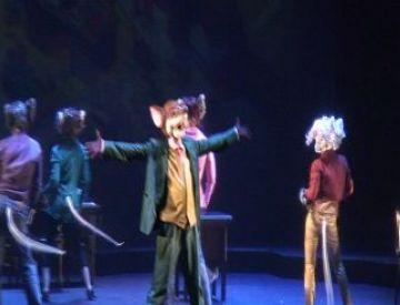 El musical 'Geronimo Stilton' transforma el Teatre-Auditori en un món oníric ple de fantasia