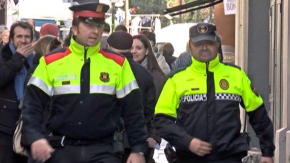 La Policia Local i els Mossos d'Esquadra porten als carrers l''Operació Grèvol'