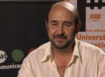 Ladislao Martínez, d'Ecologistes en Acció, en una entrevista a Cugat.cat